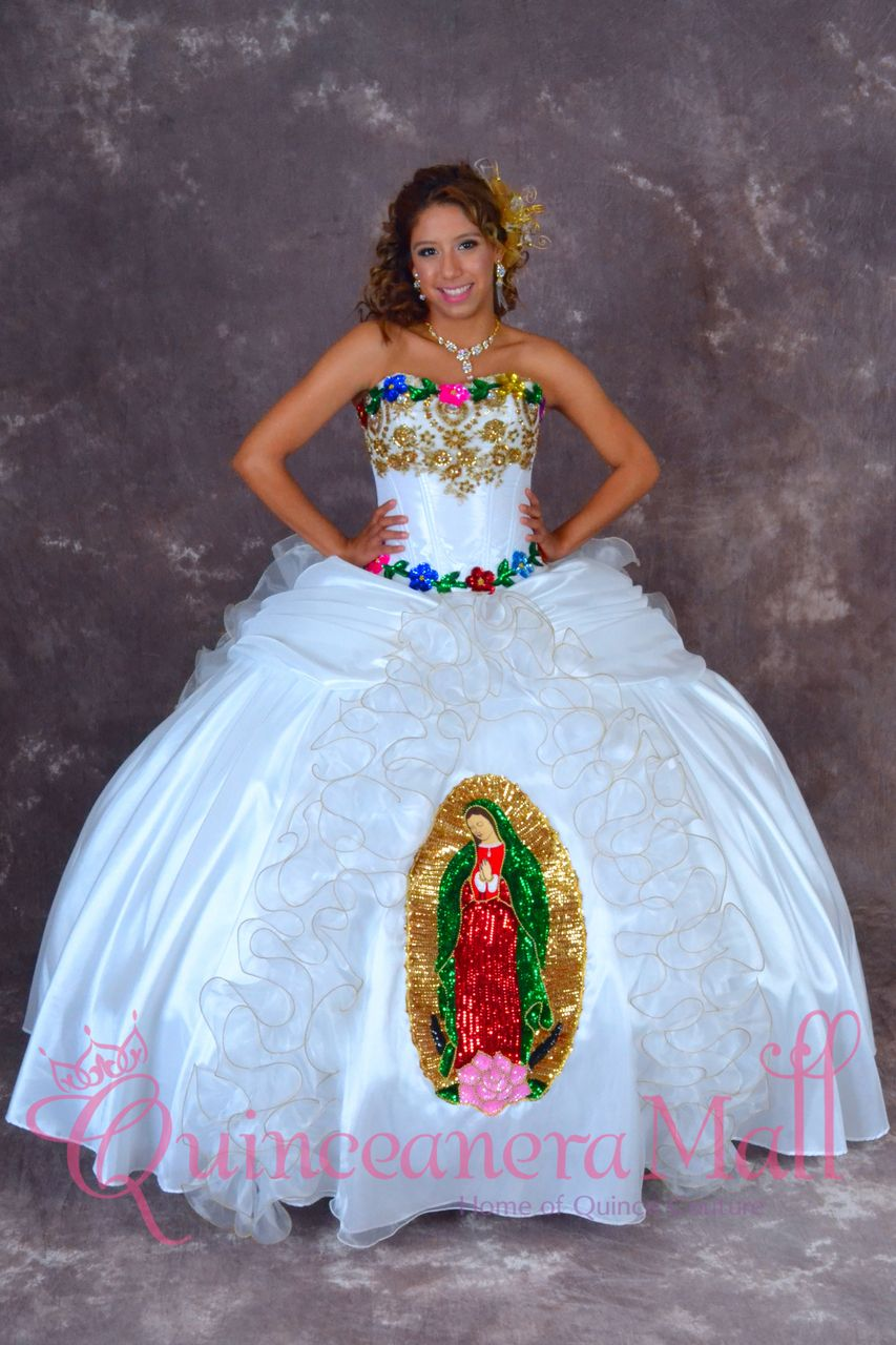 039216f0b Quinceanera Mall - Quinceanera Dress Virgen De Guadalupe