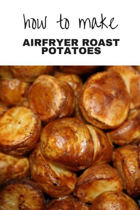 Airfryer Roast Potatoes Recipe Air Frier Recipes Air Fryer Oven Recipes Air Fryer Recipes