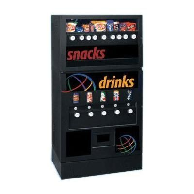 Snack And Soda Vending Machine With Images Soda Vending