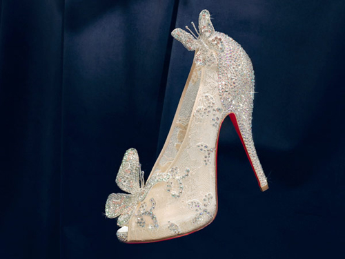966ff8047d2f Christian Louboutin Cinderella Butterfly shoes