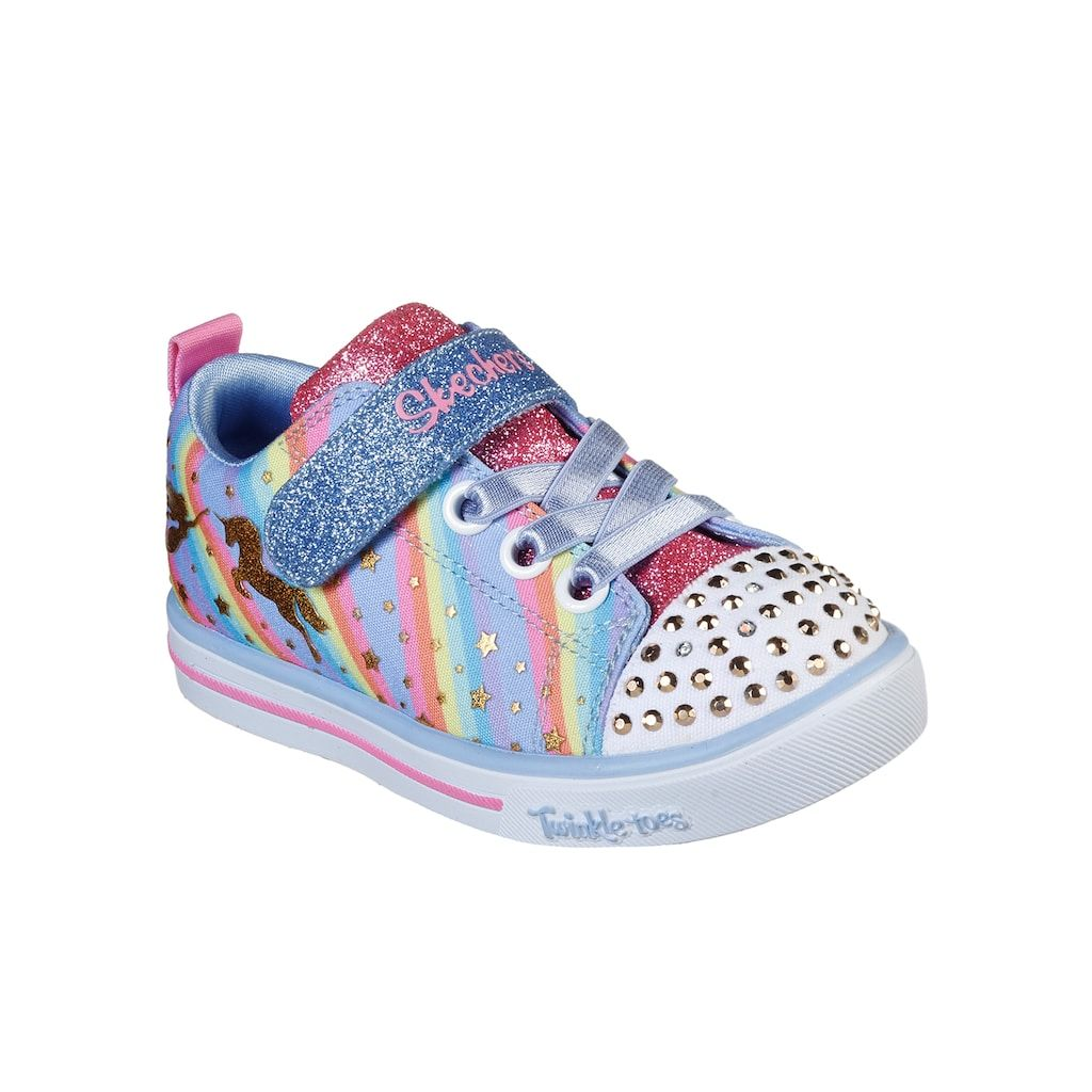 Skechers Twinkle Toes Sparkle Lite Magical Rainbows Toddler