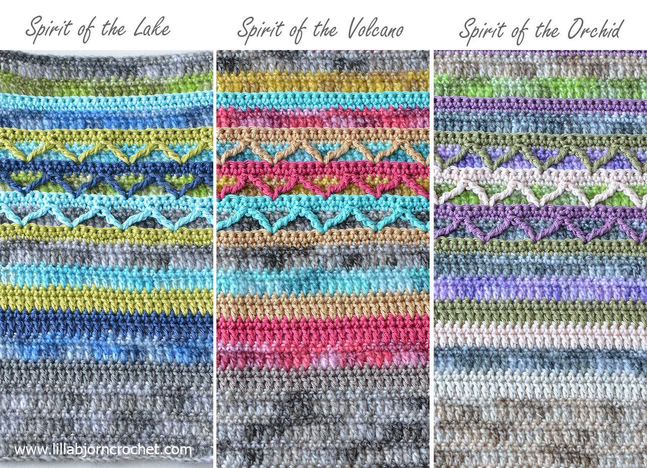Spirits of Life Wrap CAL: Part 1 en 2018 | Crochet | Pinterest ...