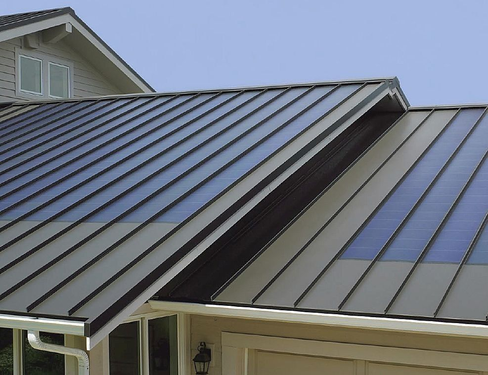 Finding The Best Metalroofing Fauquier County Company Roofing Homeimprovement Blog Standing Seam Metal Roof Solar Panels Metal Roof