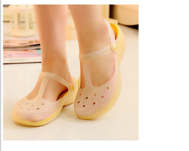 Compra baratos zapatos amarillos online al por mayor de China ...