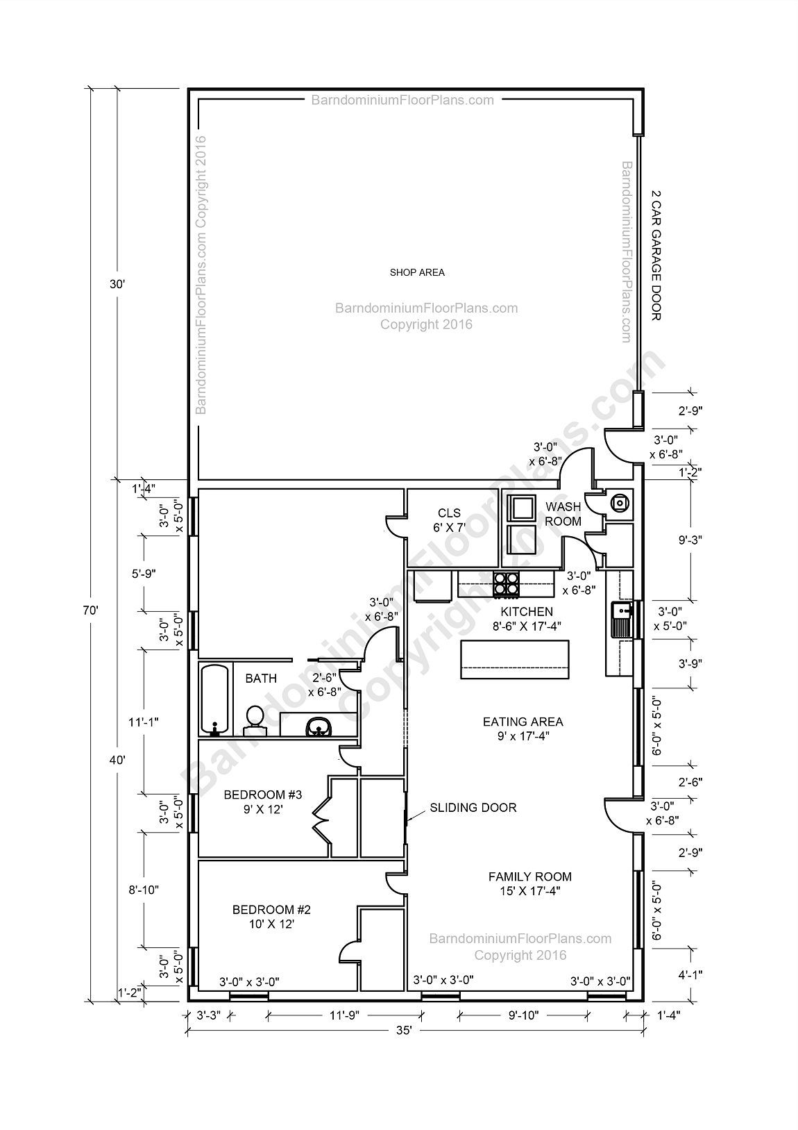 Barndominium Floor Plans With Breezeway Lshapedbarndominiumfloorplans Barndominium Plans Shop House Plans Pole Barn House Plans