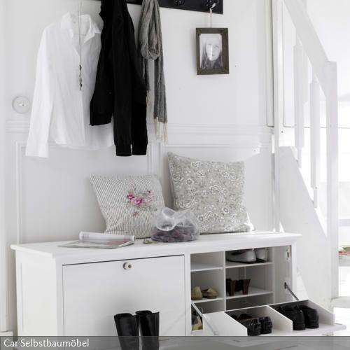 schuhschrank in wei wohnung und mehr. Black Bedroom Furniture Sets. Home Design Ideas