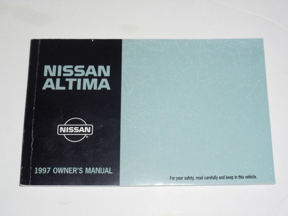 1997 nissan altima owners manual book owners manuals pinterest rh pinterest com 97 Maxima Transmission 97 Altima