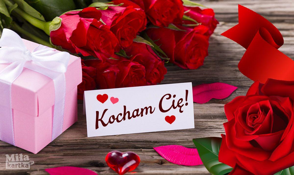Kocham Cie Milosc Kochanie Kartki Walentynki Serce Okolicznosciowe Polska Poland Pocztowki Dlaciebie Love Kwiaty Valenti Gift Wrapping Love Gifts