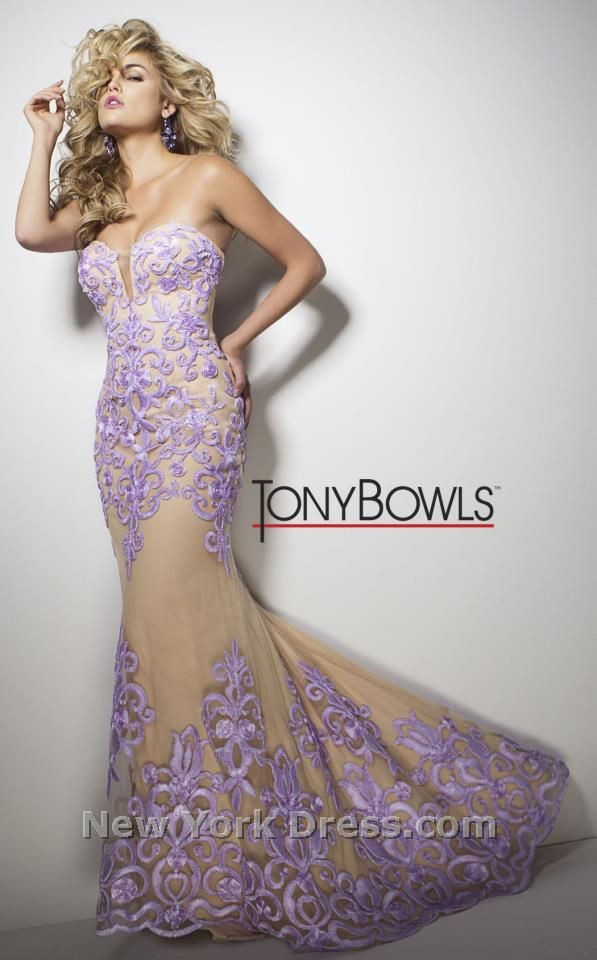 Tony Bowls TB11605 Dress - NewYorkDress.com | Prom | Pinterest ...