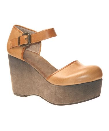 Take a look at this Sahara Shoshone Wedge by OTBT on #zulily today!