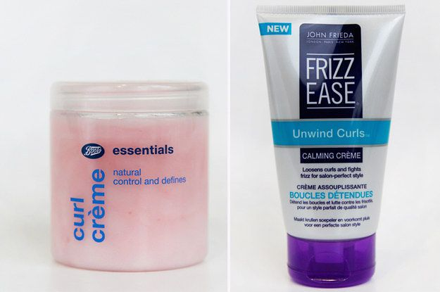 Hair products for frizz