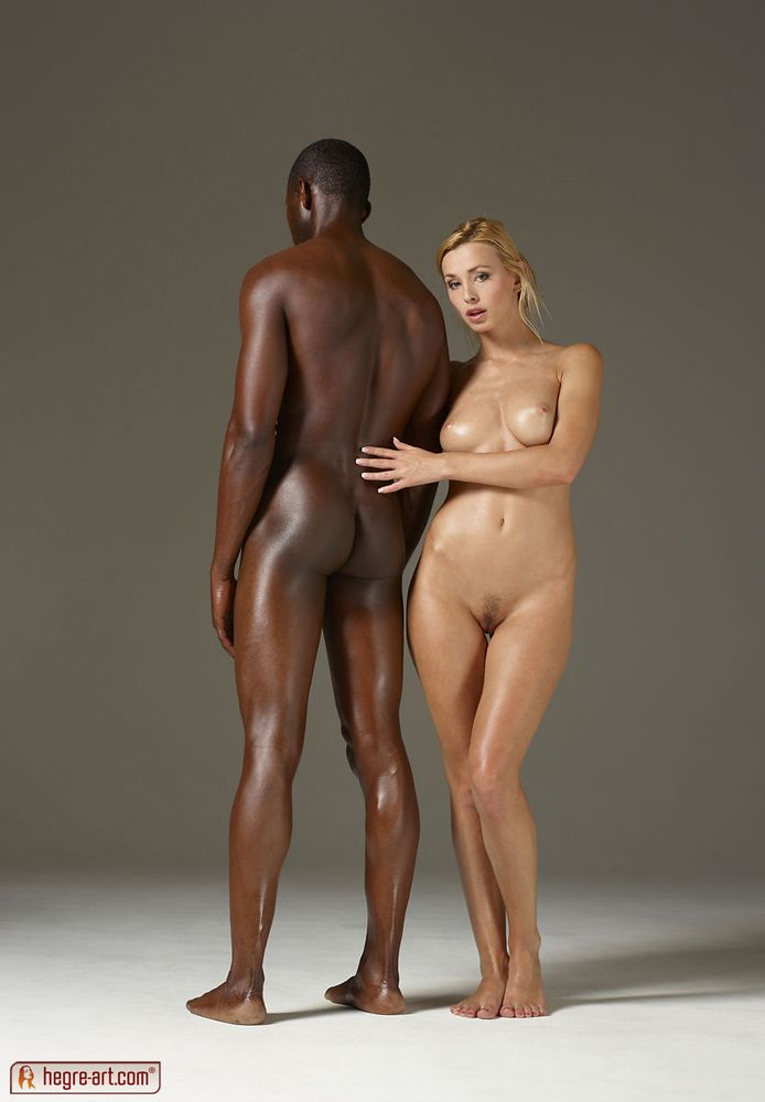 Ebony ffm interracial video