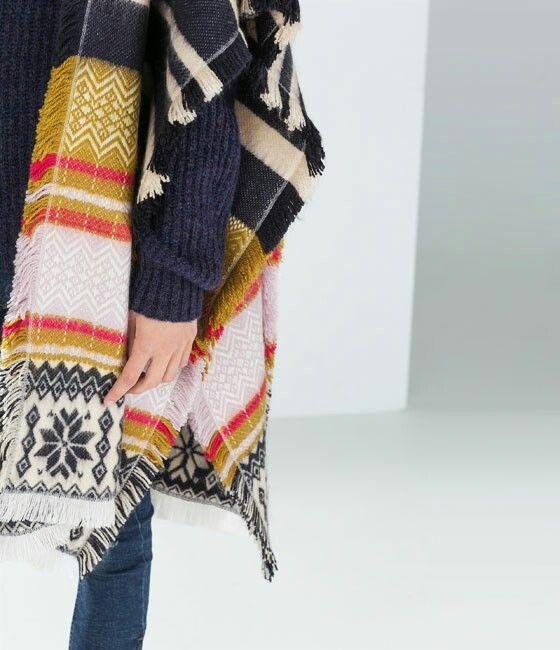 ZARA scarf!!!!