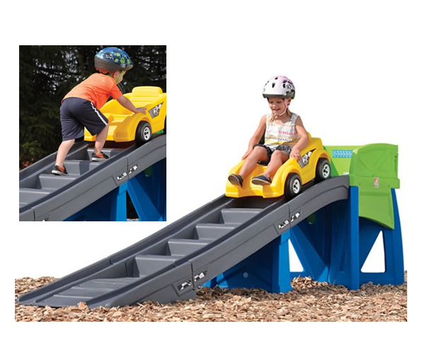 Charmant Extreme Coaster A Backyard Roller Coaster For Kids   The Extreme Coaster  Features A Sleek,
