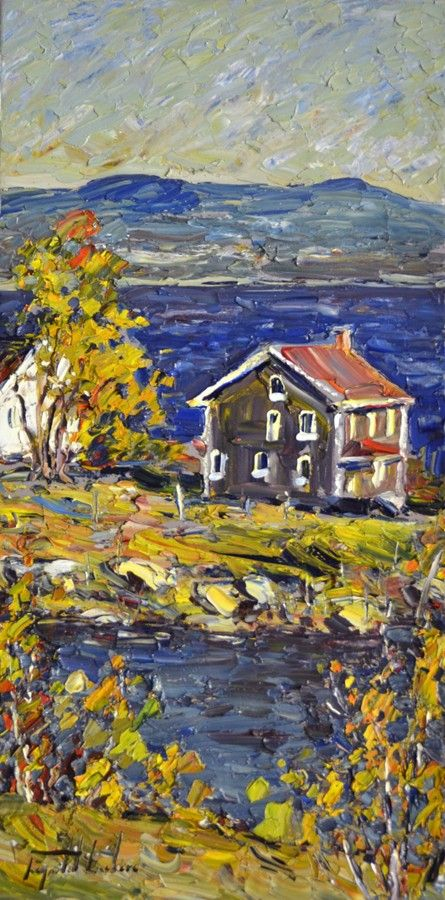 View and buy this Oil on Canvas Painting by Raynald Leclerc