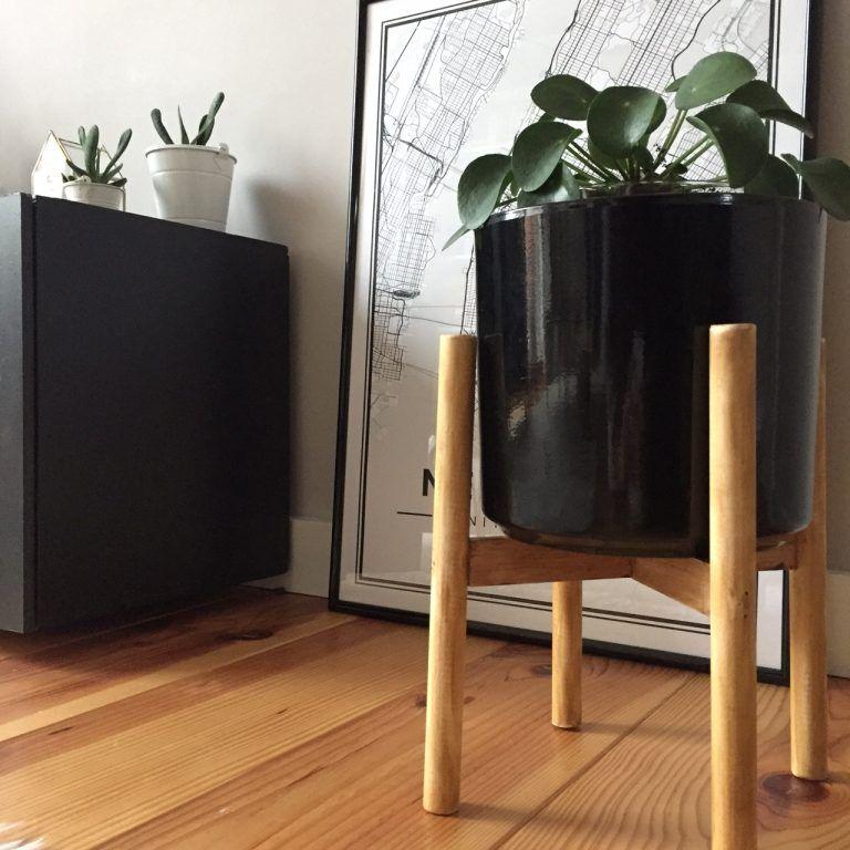 Diy 56 Un Support Pour Plante Supports Pour Plantes Plante Pot De Fleurs