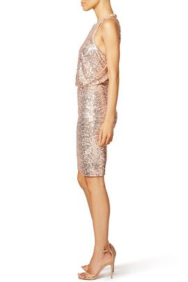 9d6596b0 Blush Maria Dress by Badgley Mischka | bridesmaid | I do I do I do ...