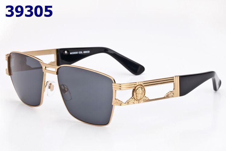 versace sunglasses 630 black gold frame