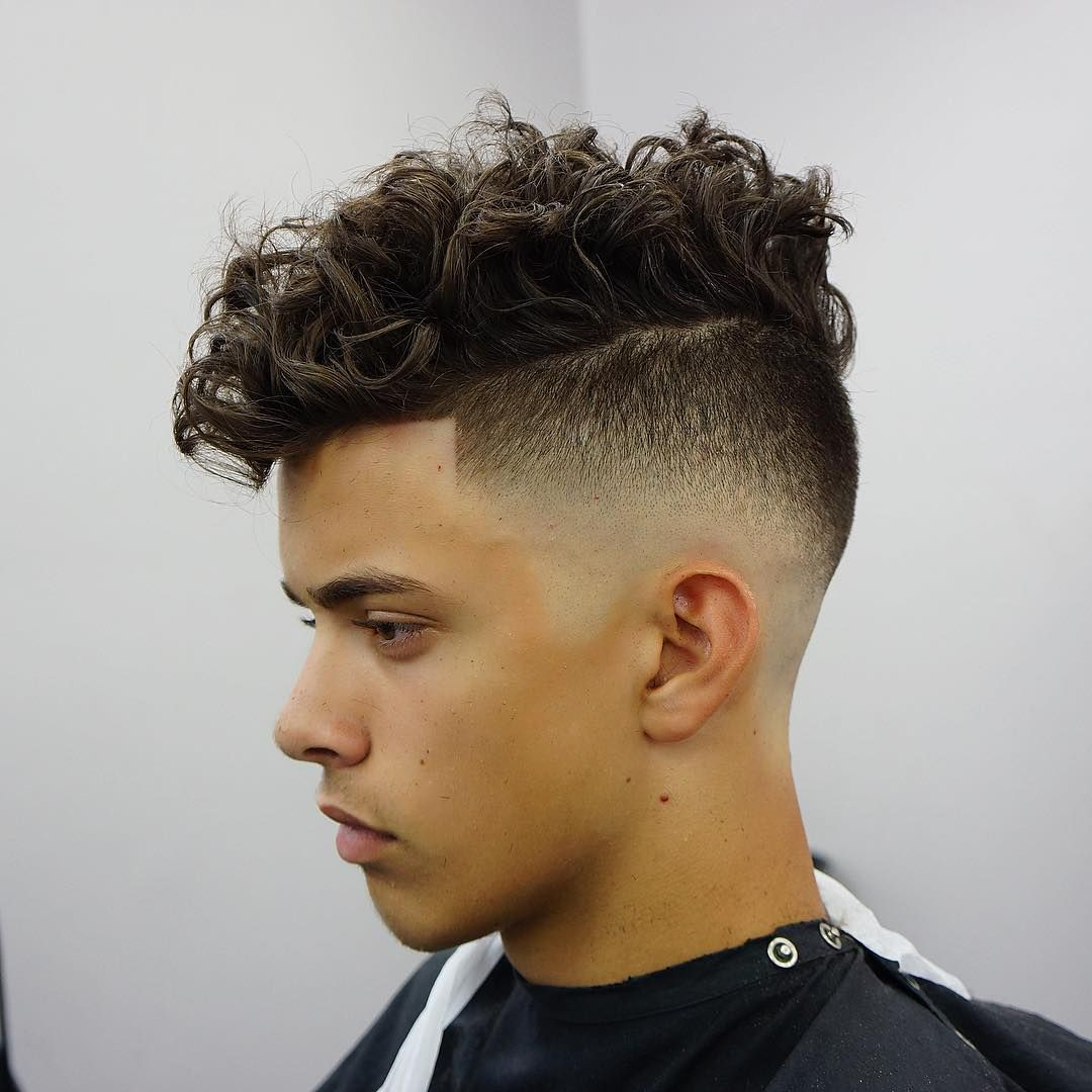 15 Uber Cool Punk Hairstyles For Men Fade Haircuts Messy