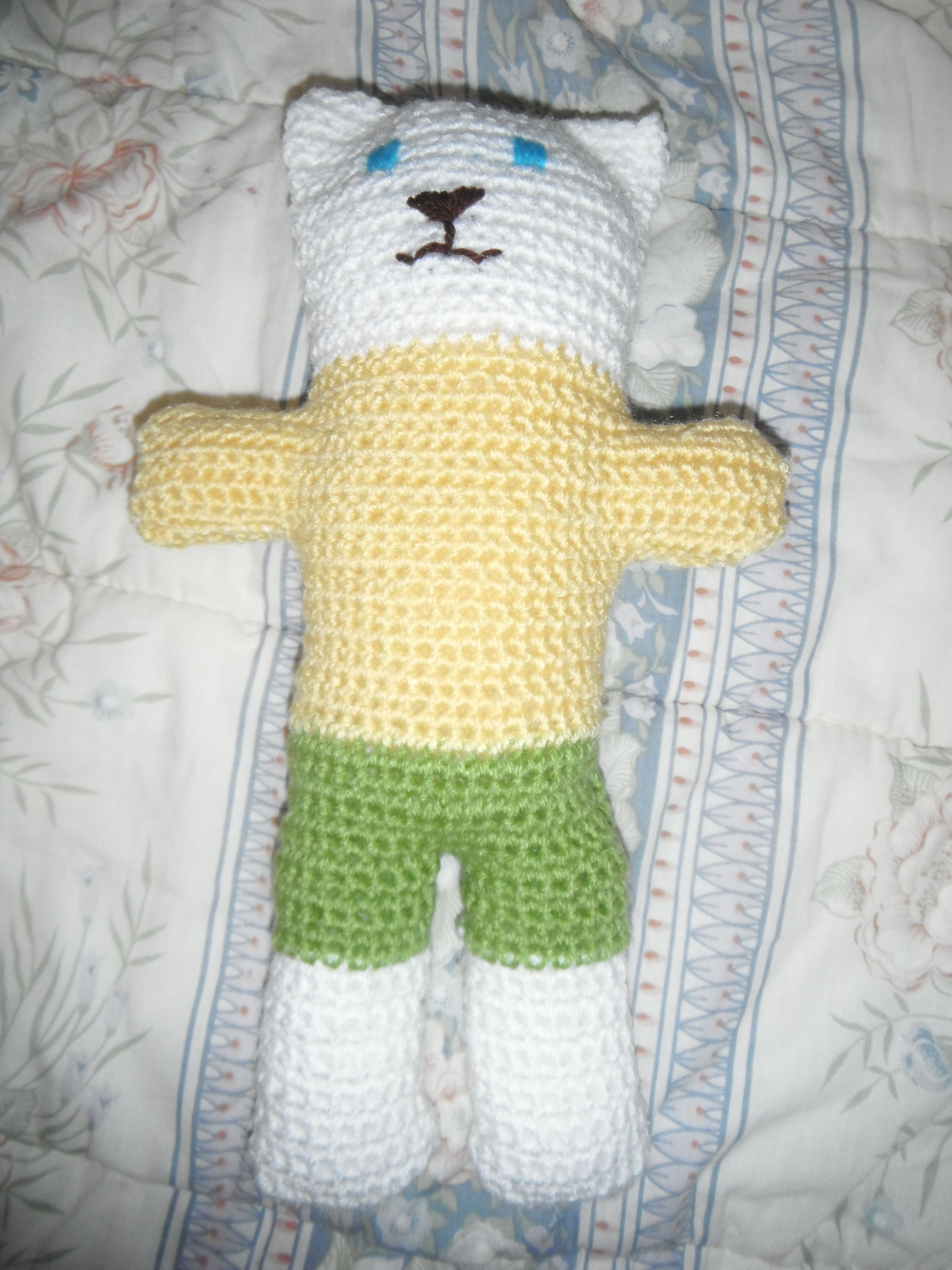 Free pattern – Crocheted Trauma teddy (Australian red cross) US and ...