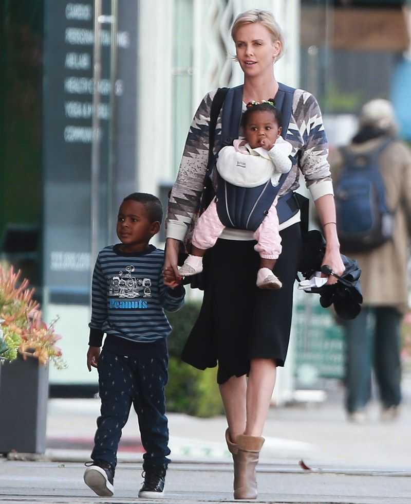 Charlize Therons Son Jackson Caught Throwing Another Epic Tantrum