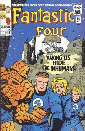 Fantastic Four Vol 1 45 Fantastic Four Comics Marvel Comics Covers Comic Covers