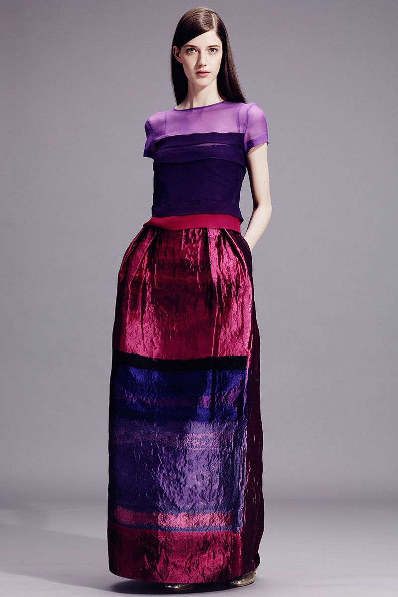 Alberta Ferretti Resort 2015 - Review - Fashion Week - Runway, Fashion Shows and Collections - Vogue