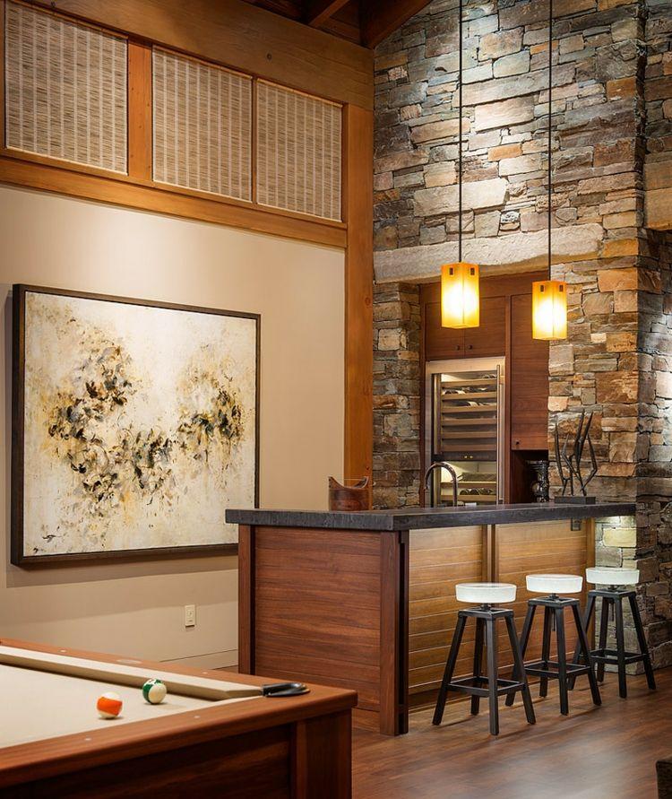 Wohnzimmer Bar Attraktive Und Stilvolle Ideen Fur Eine Tolle