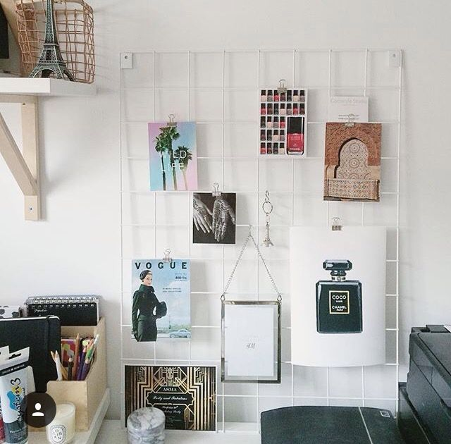 Lovely Image Of Our White Wire-mesh From CocostyleStudio