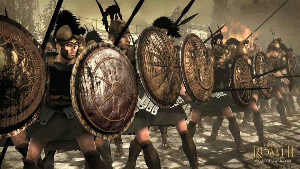 Seleucid Phalanx In Rome 2 Total War Total War Spartan Total
