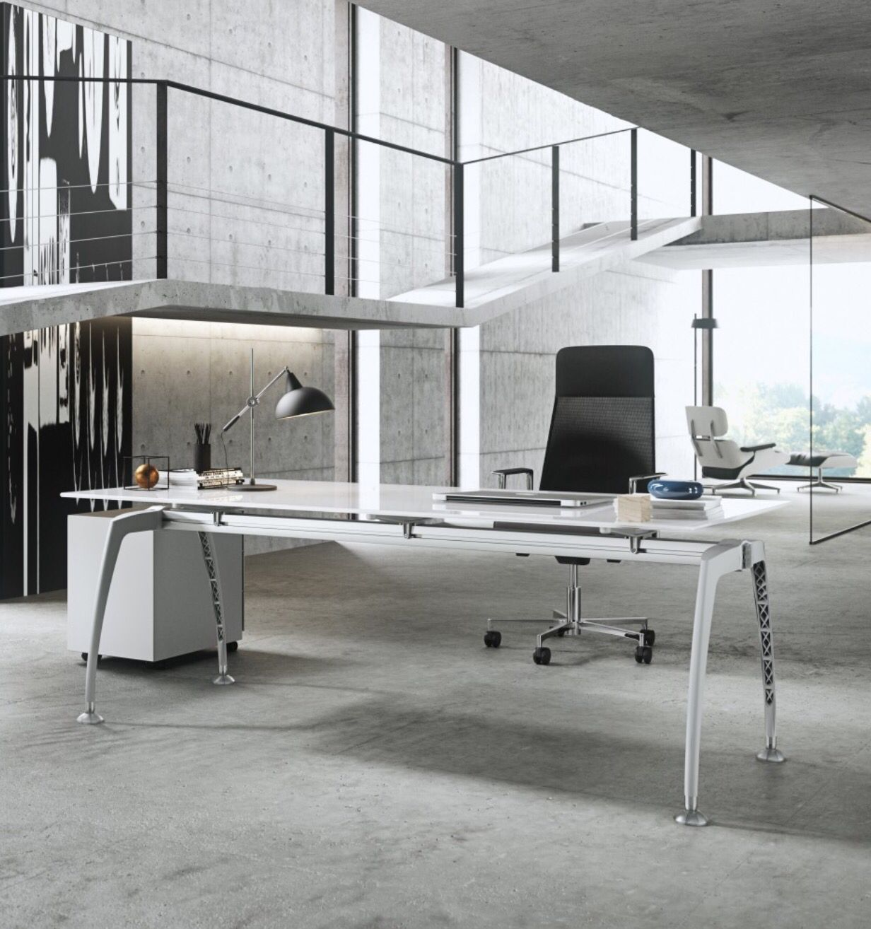 Wouldn't You Be Productive With This Frezza Tiper Desk