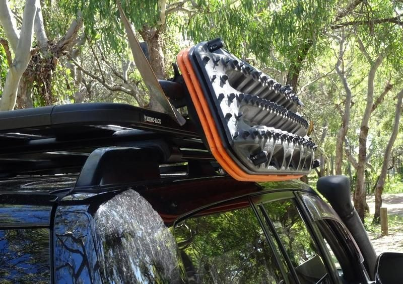 Traxrax Maxtrax Mounting Brackets For Rhino Roof Racks With Cage Basket Rhino Roof Racks Land Cruiser 4x4