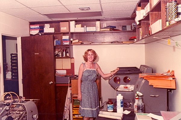 #1980s office. | Office furniture, Used cubicles, Furniture