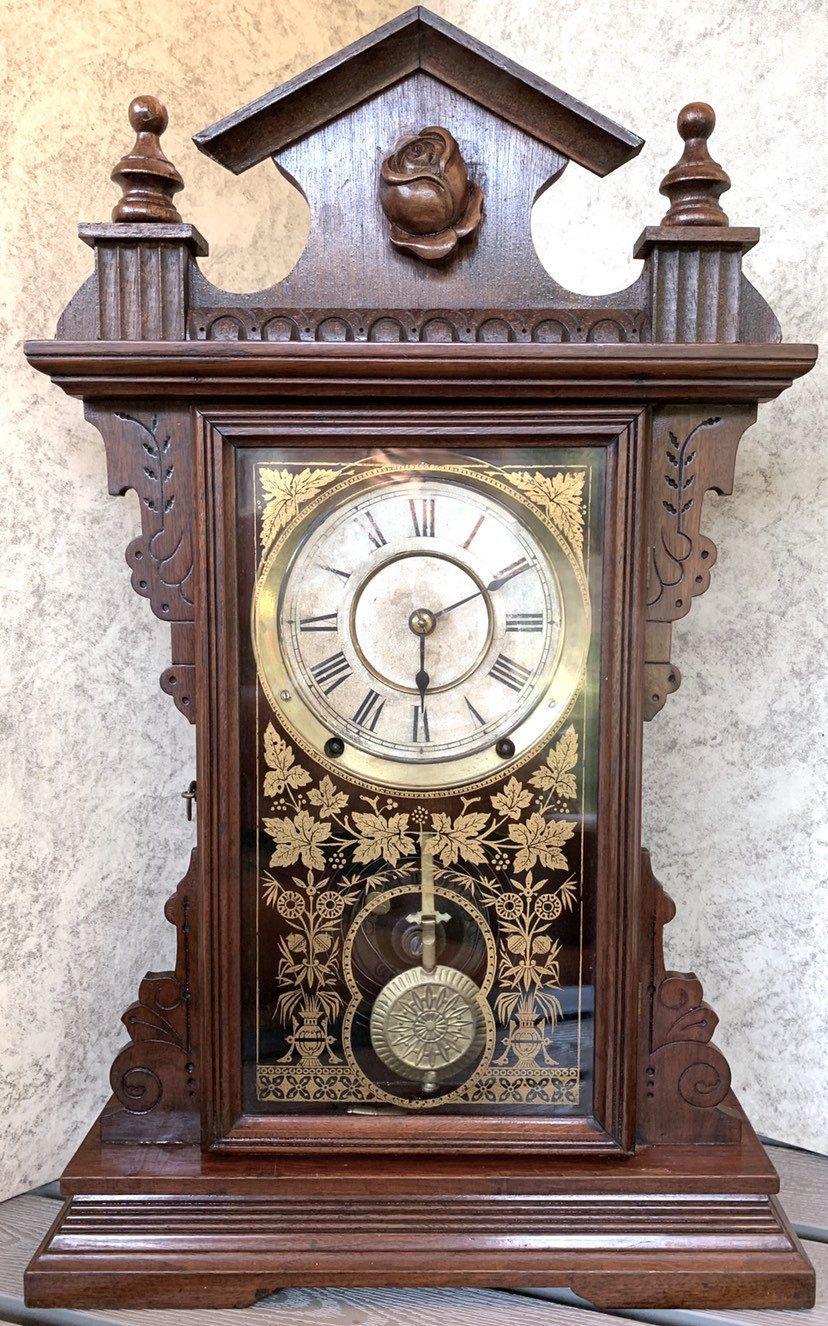 Antique Seth Thomas Clock Dover City