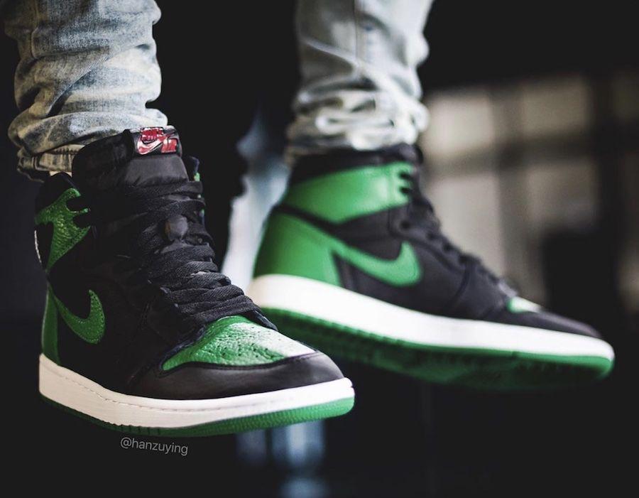 2020 Air Jordan 1 Retro High Og Pine Green 2 0 555088 030 For Sale In 2020 Air Jordans Jordan 1 Retro High Jordans