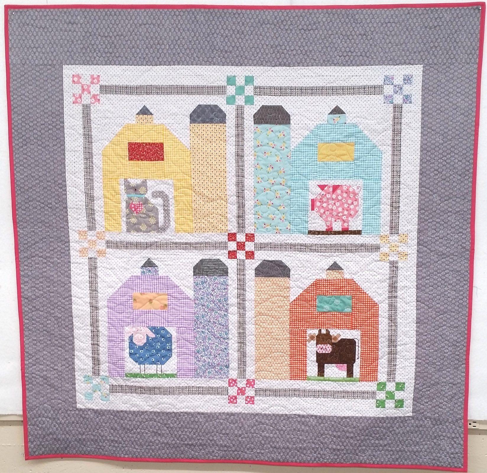 Lori Holt's Farm Girl Vintage - Barn Yard Quilt Kit - 51 x 51 ... : lori holt quilt patterns - Adamdwight.com