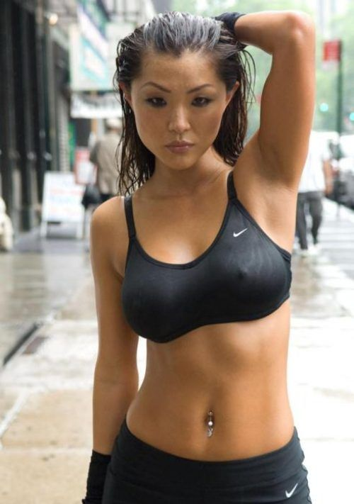 wet Pinterest asian girl