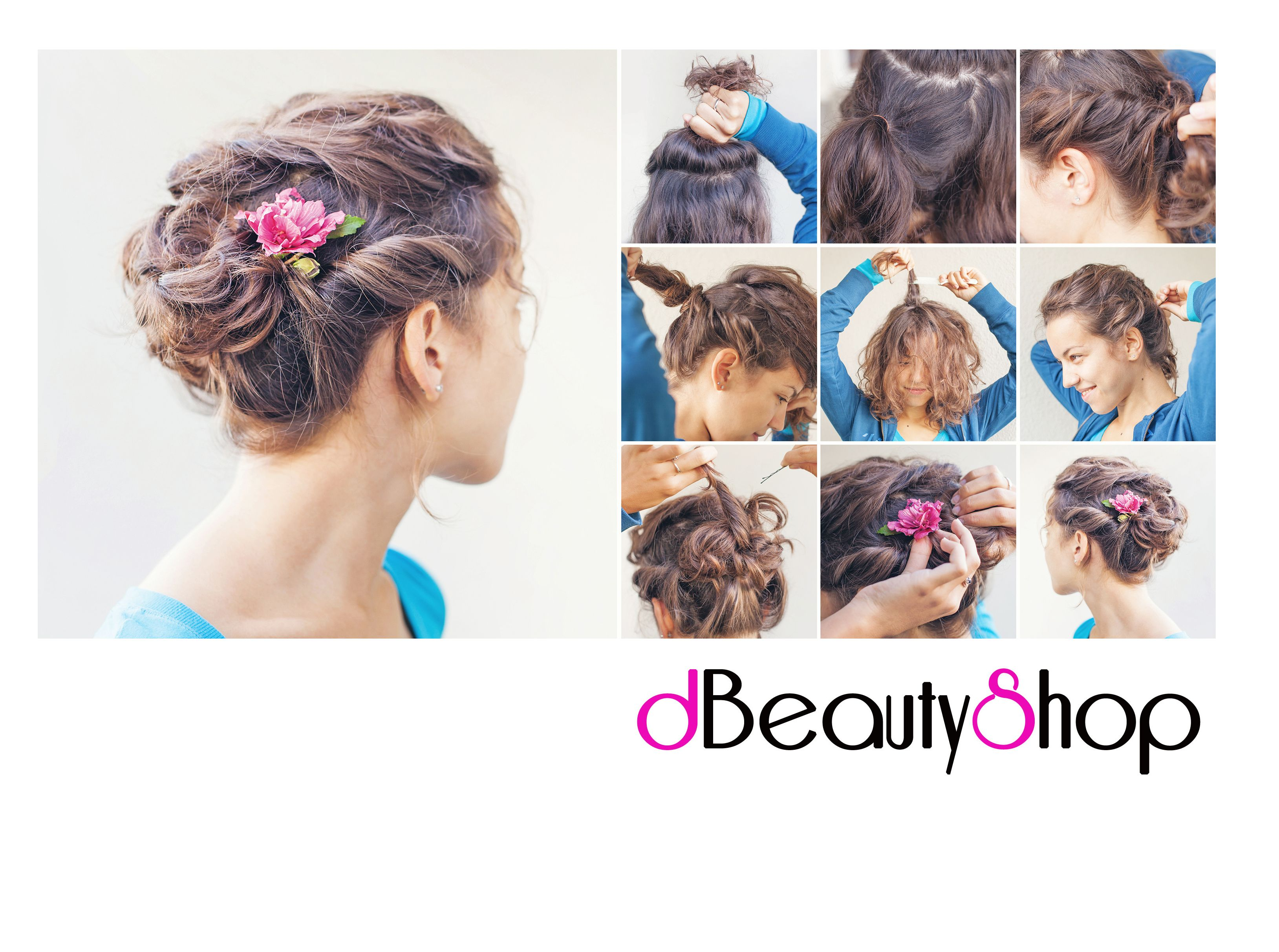 How to do a great upstyle hair style looks super for a prom