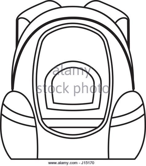 Bags Clipart Drawing School 1137