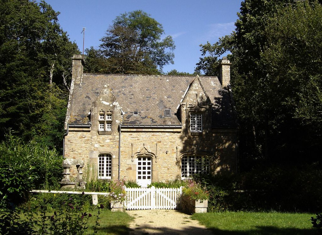 Manoir breton localiser manoir manor pinterest for Maison style breton