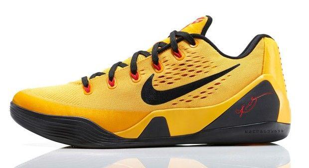 separation shoes 62850 a350f Nike-Kobe-9-EM low cut yellow