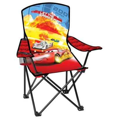 Child Camping Chair Armless Covers Disney Licensed Folding Arm Cars O My G Boyz