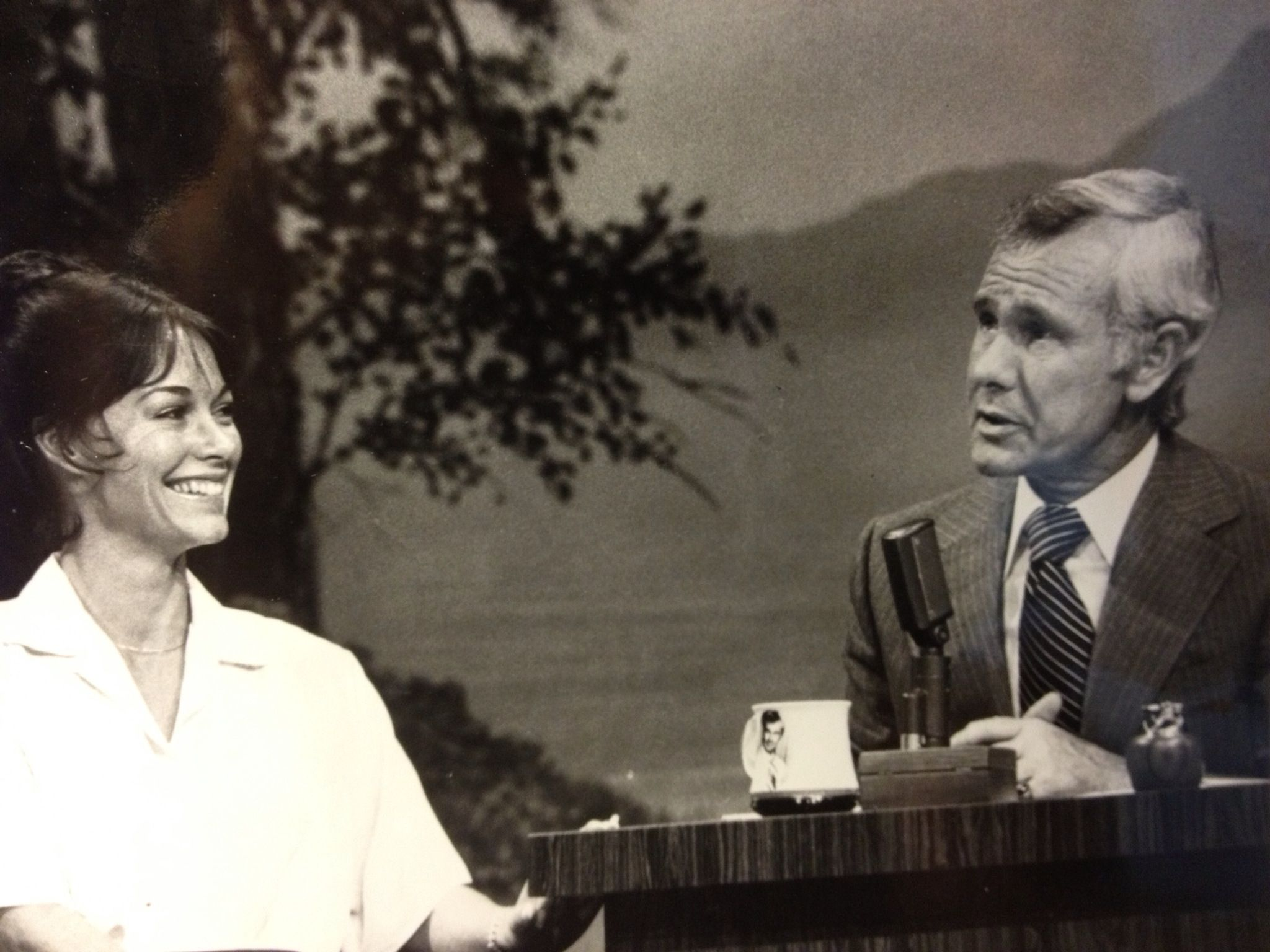 The Johnny Carson Show ( The Pinnacle in  show business )