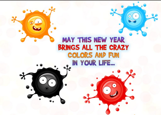 funny new year greetings