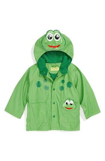 a7b3c3e81 Western Chief  Frog  Rain Jacket (Toddler Boys