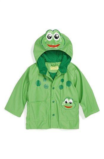 Western Chief 'Frog' Rain Jacket (Toddler Boys, Little Boys & Big ...