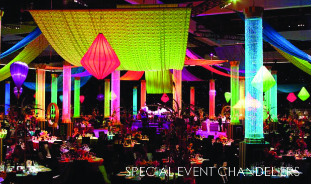 giant chandelier event - Google Search