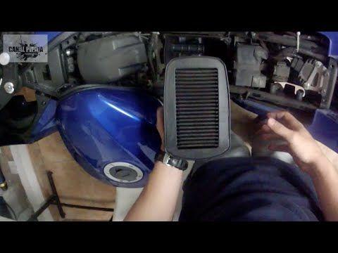 Reemplazar Filtro de Aire YAMAHA R15