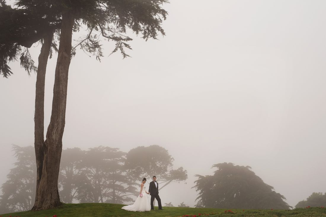san francisco wedding portraits at the olympic club photo by