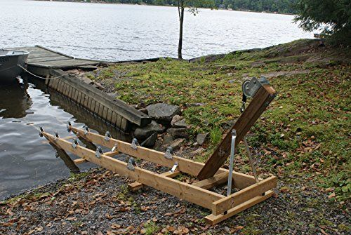 Dock Edge 1200 Capacity Ramp PWC Wheel Kit, 35-Inch, Docking